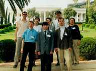 1998 Haifa, Olga with friends from Belarus at the Convention