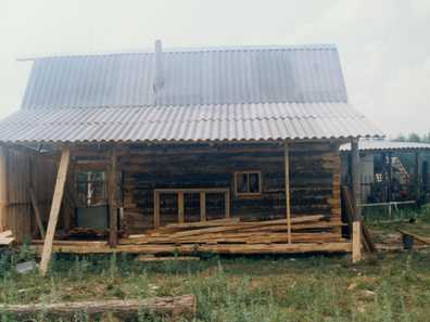 1999 The new banya (sauna)